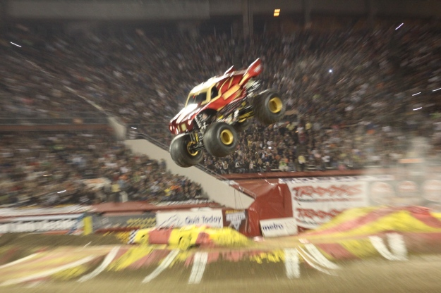 One of the amazing Monster Trucks (Iron Man)!