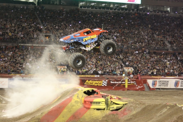 The Amazing Spiderman Monster Truck!