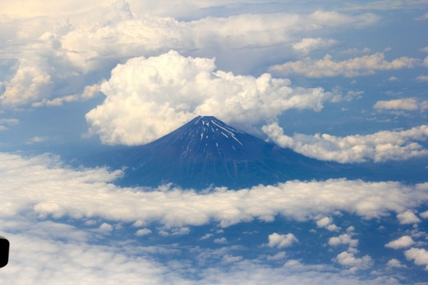 I will end with a photo Mt. Fuji that I took from the plane ride to Okinawa! I felt so lucky to get this shot. Amazing!!!