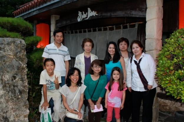 First evening in Okinawa. Dinner with some of our family! June 5, 2013. — at Okinawa|沖縄.