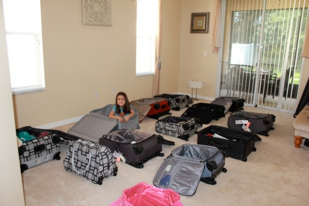 The beginning of all the packing!