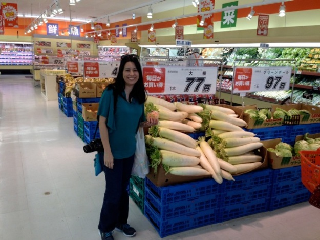 Grocery shopping... Holy Daikon! — at Okinawa|沖縄.