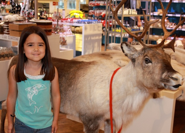 Made it to the Stockman Dept. Store Downtown today and found a reindeer!
