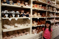 Stuffed toys at Hamleys!