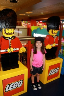 Guards made out of Legos!