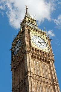 The beautiful Big Ben Clock Tower.