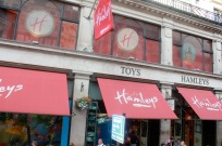 Entrance to Hamleys