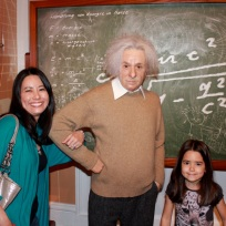 Mia and I with Einstein!