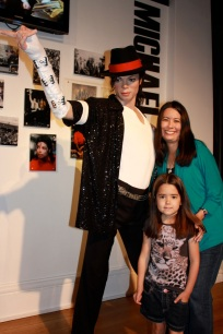 Mia and I with Michael Jackson!