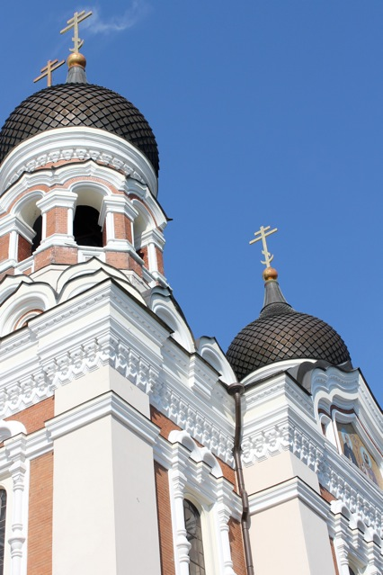 The beautiful St. Alexander Nevsky Cathedral