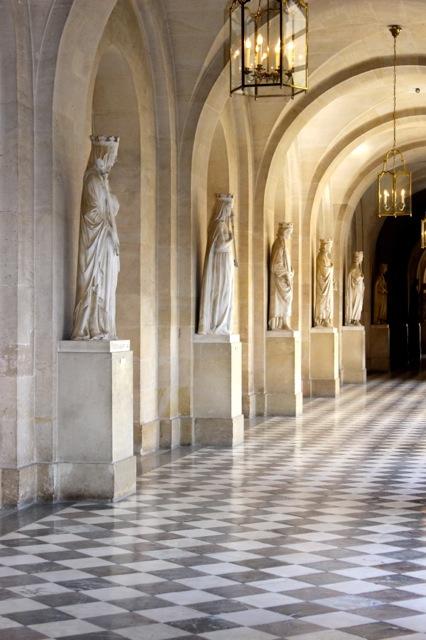 Palace of Versailles Hallway.