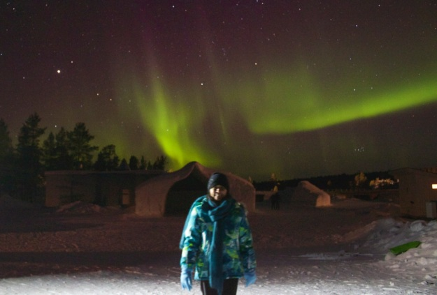 I was so excited to be standing in front of such an amazing show from the northern lights... one of the most exciting moments of my life!