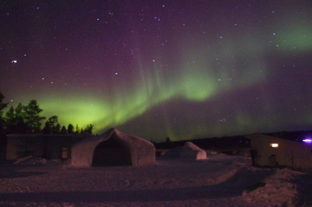Wow!!! The beautiful Northern Lights!