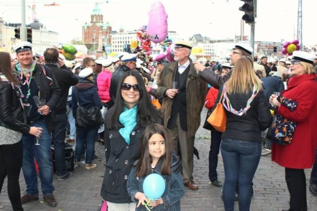 Mia and I had a great time on the eve of May Day for the celebration at the Market Square!