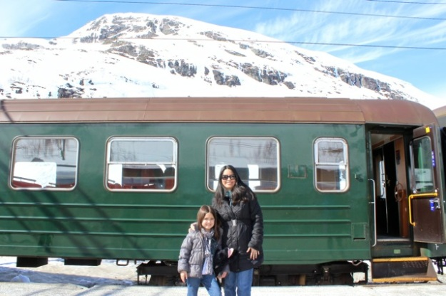 After one night in Oslo, we took the Bergen Railway to a stop in Myrdal and jumped on the Flåm Railway.