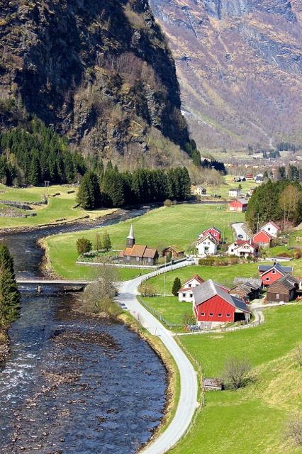 Ahhhhh.... the picturesque Flåm Valley!