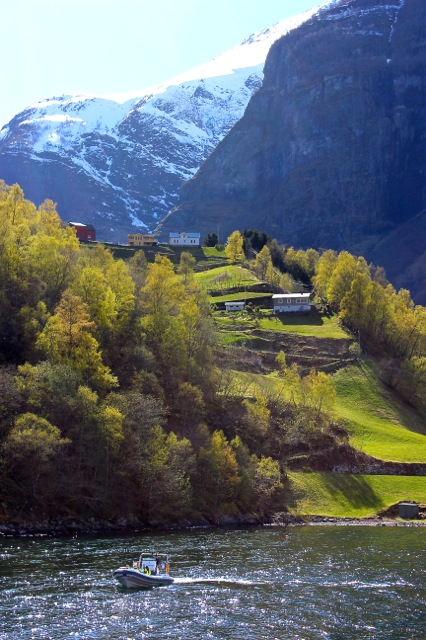 The charming Village of Undredal!