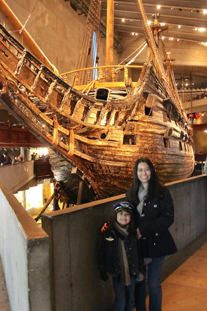 We enjoyed visiting the Vasa Museu located on Djurgården Island.  This is the only surviving 17th century ship in the world!