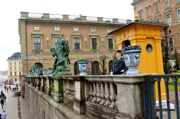 The Royal Palace (Stockholm Palace).