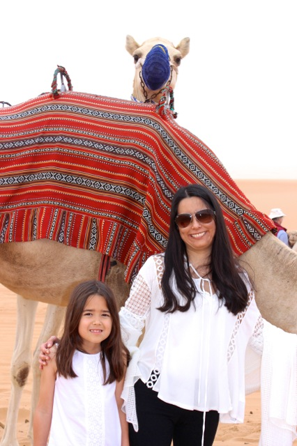 Nothing like getting photobombed by a camel!