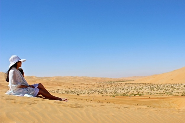 Rub' al Khali (The Empty Quarter) desert.