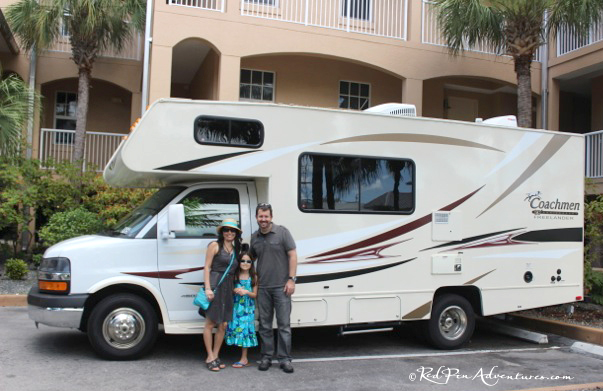 My family and I on one of our adventures this year in an RV to the Florida Keys!