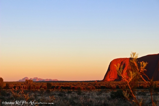 Ayers Rock and Kata Tjuta