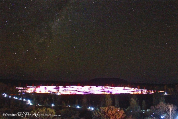 Field of Light Uluru Ayers Rock